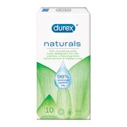 Durex Naturals, prezerwatywy, 10 szt.