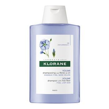 Klorane, szampon na bazie włókien lnu, 200 ml