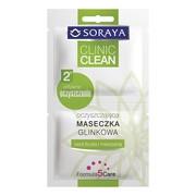 Soraya Clinic Clean, oczyszczająca maseczka glinkowa, 10 ml (2 x 5 ml)