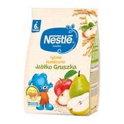 Nestle, kaszka ryżowa bezmleczna, jabłko i gruszka, 6 m+, 180 g