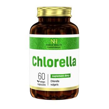 Chlorella, kapsułki, 60 szt. (Noble Health)