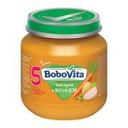 BoboVita, obiadek, warzywa z indykiem, 5m+, 125 g