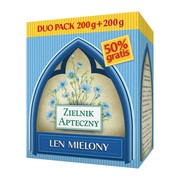 Len mielony, duo pack 200 g + 200 g