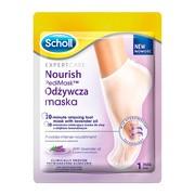 Scholl PediMask, odżywcza maska z olejkiem lawendowym, 1 para