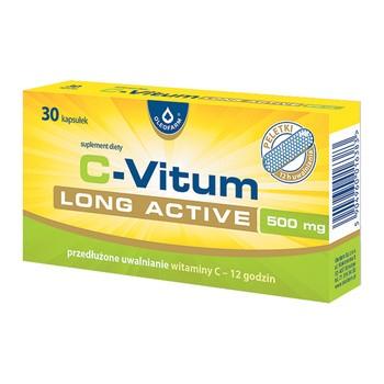 C-Vitum Long Active, kapsułki, 30 szt.