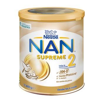 Nestle Nan Supreme 2 HM-0, mleko następne w proszku dla niemowląt powyżej 6. miesiąca, 800 g