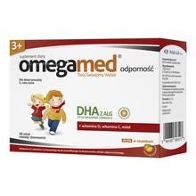 Omegamed Odporność 3+, płyn w saszetkach, 30 szt.