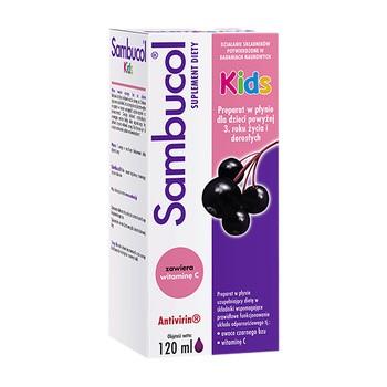 Sambucol Kids, płyn, 120 ml