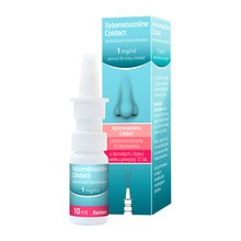 Xylometazoline Coldact, 1 mg/ml, aerozol do nosa,10 ml