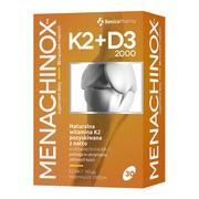 Menachinox K2 + D3 2000, kapsułki miękkie, 30 szt.