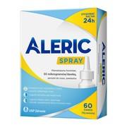 Aleric Spray, 50 mcg/dawkę, aerozol do nosa, 60 dawek