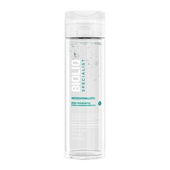 Bioliq Specialist Niedoskonałości, płyn micelarny przeciw niedoskonałościom, 200 ml