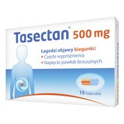 Tasectan 500 mg, kapsułki,15 szt.