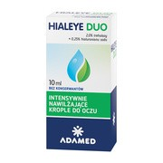 Hialeye Duo, krople do oczu, 10 ml