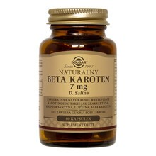 Solgar Naturalny Beta Karoten, 7 mg, kapsułki, 60 szt.