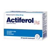 Actiferol Fe, 30 mg, kapsułki otwierane, 30 szt.