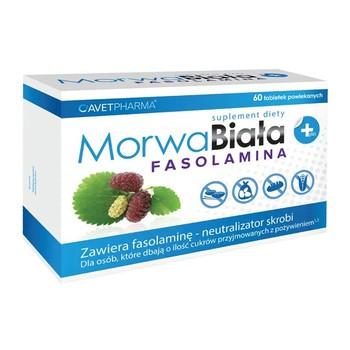 Morwa Biała plus Fasolamina, tabletki powlekane, 60 szt.