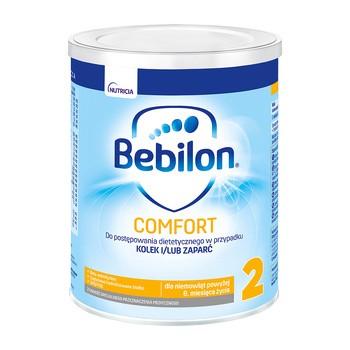 Bebilon Comfort 2, mleko następne dla niemowląt z tendencją do kolek i zaparć, 400 g