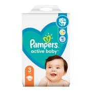 Pampers Active Baby 3 (6−10 kg), pieluszki jednorazowe, 152 szt.