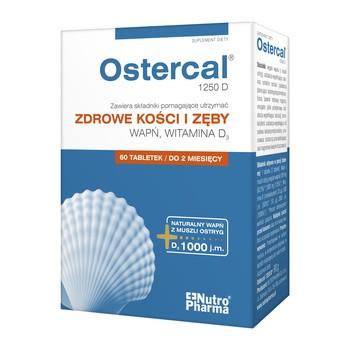 Ostercal 1250 D, tabletki, 60 szt.
