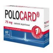 Polocard, 75 mg, tabletki dojelitowe, 60 szt.