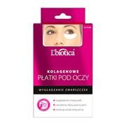 L`Biotica, kolagenowe płatki pod oczy, wygładzenie zmarszczek, 3 x 2 szt.
