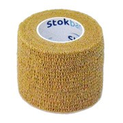 StokBan bandaż elastyczny, samoprzylepny, 4,5 m x 2,5 cm, Skin, 1 szt.