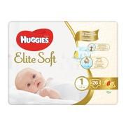 Huggies Elite Soft Newborn 1, pieluchy (3-5 kg), 26 szt.