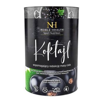 Koktajl wspomagający redukcję masy ciała, proszek, smak czarnej porzeczki, 150 g