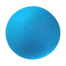 Qmed Piłeczka rehabilitacyjna do ćwiczeń, żelowa, niebieska, 1 szt.