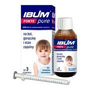 Ibum Forte Pure, 200 mg/5 ml, zawiesina doustna, butelka, 100 g