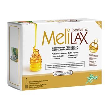 Melilax Pediatric, mikrowlewka doodbytnicza, 6 wlewek