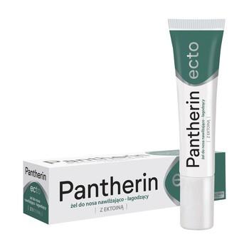 Pantherin Ecto, żel do nosa nawilżająco- łagodzący z ektoiną,15 ml