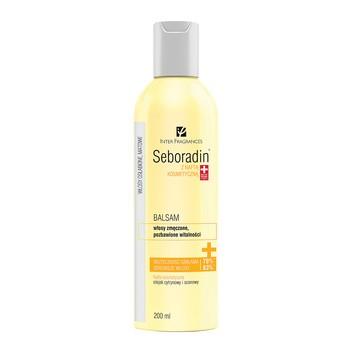 Seboradin z Naftą Kosmetyczną, balsam do włosów, 200 ml