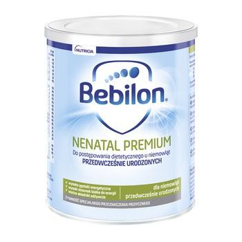Bebilon Nenatal Premium, mleko modyfikowane dla wcześniaków, 400 g