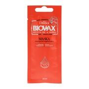 Biovax Opuntia Oil & Mango, intensywnie regenerująca maseczka do włosów zniszczonych, 20 ml