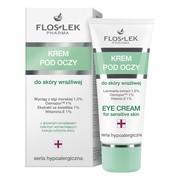 FlosLek Pharma, Seria Hypoalergiczna, krem pod oczy do skóry wrażliwej, 30 ml