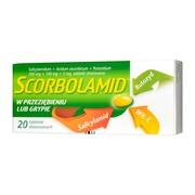 Scorbolamid, tabletki drażowane, 20 szt.