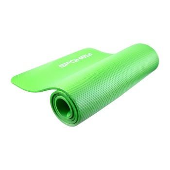 Spokey SOFTMAT mata do ćwiczeń, zielona, grubość 1 cm, 1 szt.