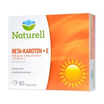 Naturell Beta-Karoten + E, tabletki, 60 szt.