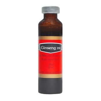 Ginseng 200 Żeń-szeń & Mleczko & Miód, płyn doustny, 10 ml, fiolki, 10 szt.