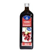 Żurawina 100%, sok, z owoców żurawin, 980 ml