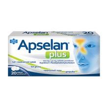 Apselan Plus, 200 mg + 30 mg, tabletki powlekane, 20 szt.