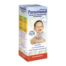 Paracetamol Aflofarm, (120 mg / 5 ml), zawiesina doustna, 100 ml