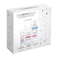 Zestaw Promocyjny Dermedic Angio, krem korygujący zaczerwienienia, 40 ml + krem ultrakojący, 7 ml + płyn micelarny, 100 ml
