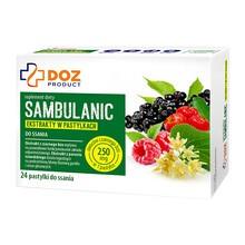 DOZ PRODUCT Sambulanic, pastylki do ssania, 24 szt.