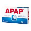 Apap, 500 mg, tabletki powlekane, 24 szt.