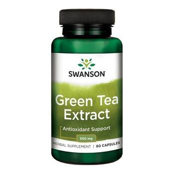 Green Tea Extract, 500 mg, kapsułki, 60 szt.