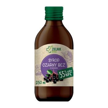 DOZ Zielnik Syrop Czarny bez, z owoców, 250 ml