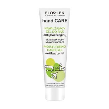 Flos-Lek Hand Care, nawilżający żel do rąk antybakteryjny pantenol/alantoina, 50 ml
